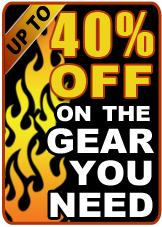 Up to 40% Off on the Gear You Need